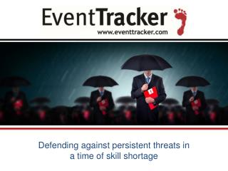 Defending against persistent threats in a time of skill shortage - A.N. Ananth | Secure Bermuda - 2016