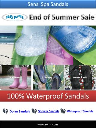 End of Summer Sale - Sensi Sandals