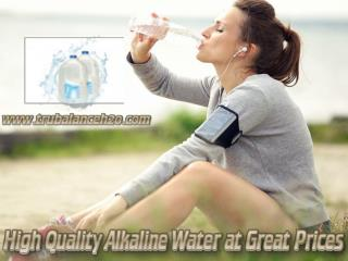 High Quality Alkaline Water at Great Prices