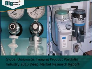Diagnostic Imaging Product Portfolio Industry Analysis, Strategies & Growth