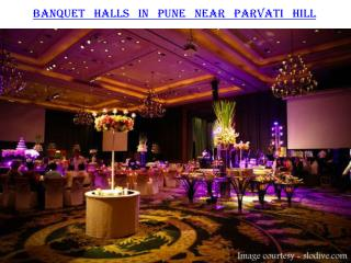 Banquet halls in Pune near Parvati Hill