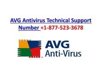 Avg antivirus technical support number 1 877 523 3678