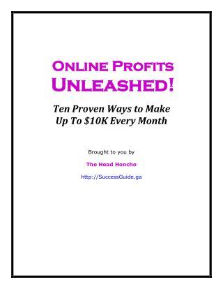 Online Profits Unleashed!