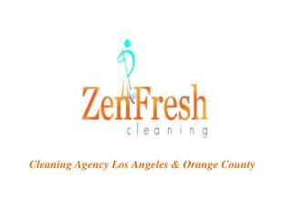 Cleaning Agency Los Angeles | Home Cleaning Services