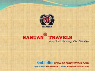 WELCOME TO NANUAN TRAVELS