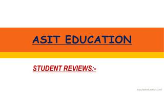 REVIEW by Asit Education Student