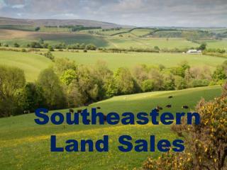 Best Price Southeastern Land Sales
