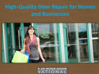 High-Quality Door Repair for Homes and Businesses.pptx