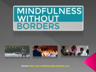 Mindfulness Without Borders - Professional Development