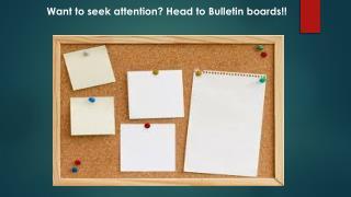 Bulletin boards Dallas Tx