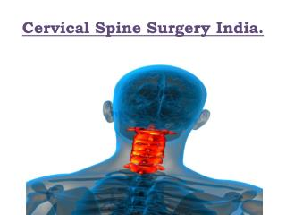 Cervical Surgery India
