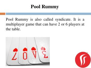 Pool Rummy | Rummy Passion