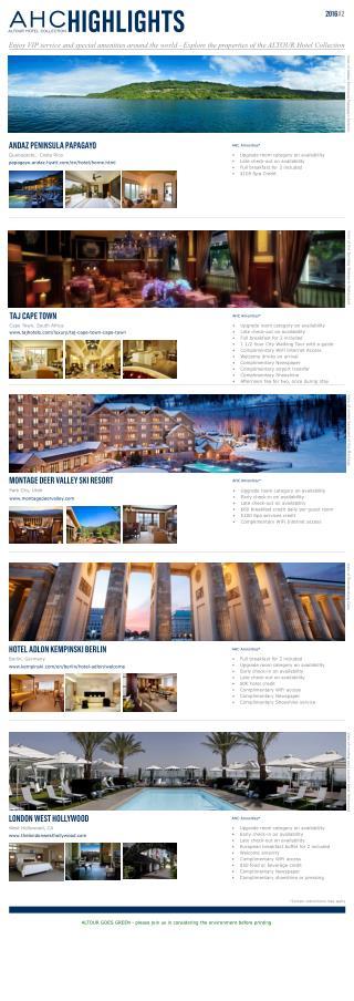 Altour Travel Hotel Collection