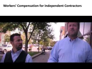 Denver & Grreley Workers' Compensation for Independent Contractors