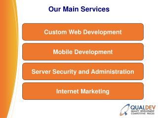 QualDev, A Complete  eCommerce Solution Provider
