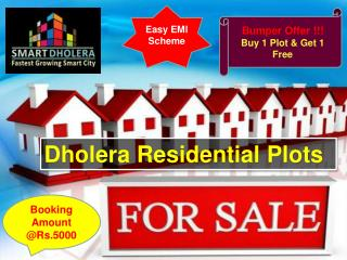 Dholera Residential Plots for Sale