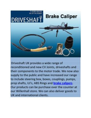 Brake Caliper UK