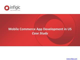 Mobile commerce app development case study