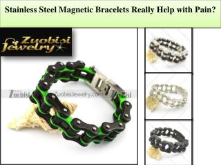 Stainless Steel Magnetic Bracelets Really Help with Pain?