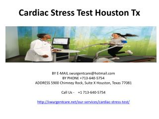 cardiac stress test houston tx
