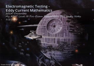 Eddy Current Maths