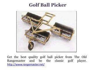Range golf ball washer