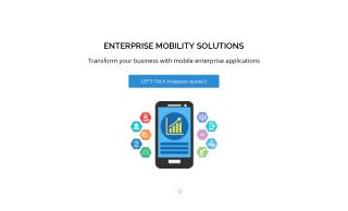 Mobile App Development Company MOBILIY