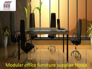 Modular office furniture supplier Noida