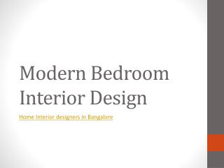 Home Interior Designers at Bangalore