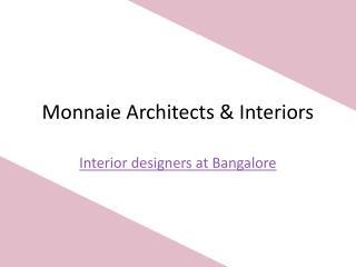 Interior Designers at Bangalore