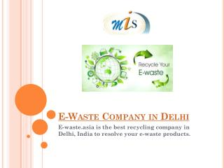 Best E-Waste Company in Delhi