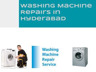 Washing machine repairs in Hyderabad