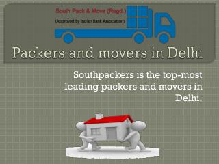 Residential packers and movers in Delhi