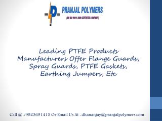 PTFE Flange Guards Manufacturers, Suppliers Thailand