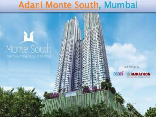 Adani Monte South Housing Project in Mumbai