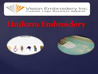 Uniform Embroidery
