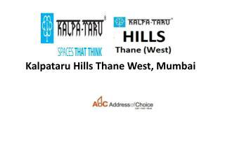 Kalpataru Hills New Project Thane | call  91 8000377231
