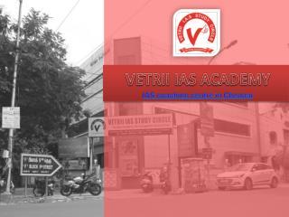IAS coaching Centre Chennai - Vetrii IAS Academy