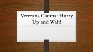 Veterans benifits
