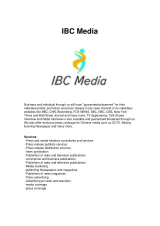 IBC Media