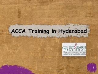 ACCA Training in Hyderabad, ACCA Coaching in Hyderabad, ACCA Training Classes Hyderabad