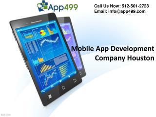 Mobile App Development Company Houston