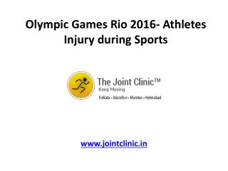 Olympic Games Rio 2016- Athletes Injury during Sports
