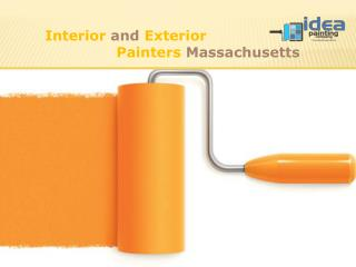 Interior and Exterior Painters Massachusetts