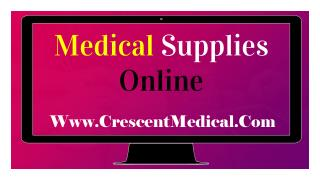 Medical Supplies And Medical Products Buy Online
