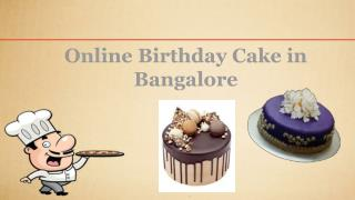 Online cake delivery in Bangalore