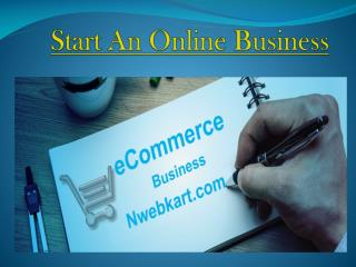 Start An Online Business .