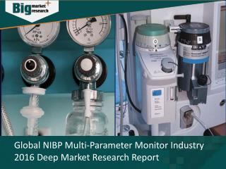 NIBP Multi-Parameter Monitor Industry Size, Share, Trends & Opportunities