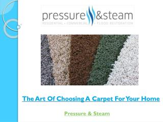 The Art Of Choosing A Carpet For Your Home
