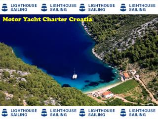 Motor yacht charter Croatia